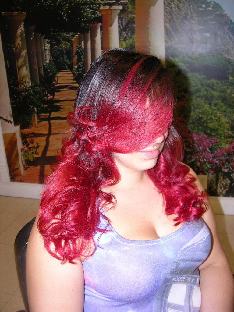 light brown hair mixed girl